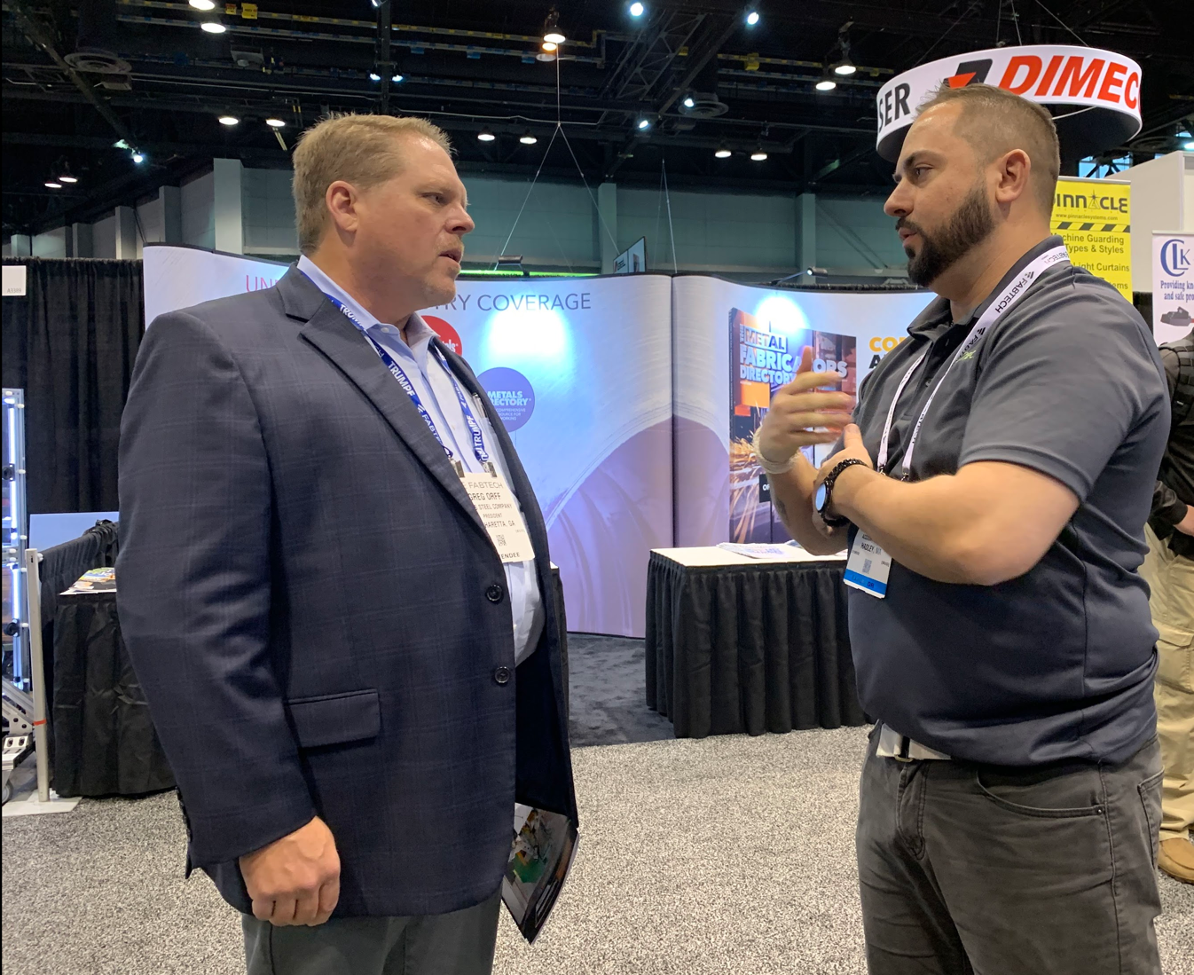 FABTECH 2019 - Chicago - Booth-14