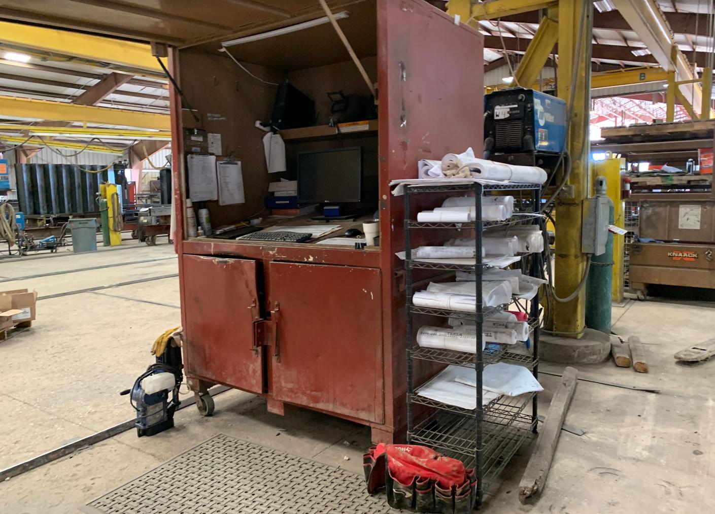 SteelDay 2019 - BIM station Fabrication Shop