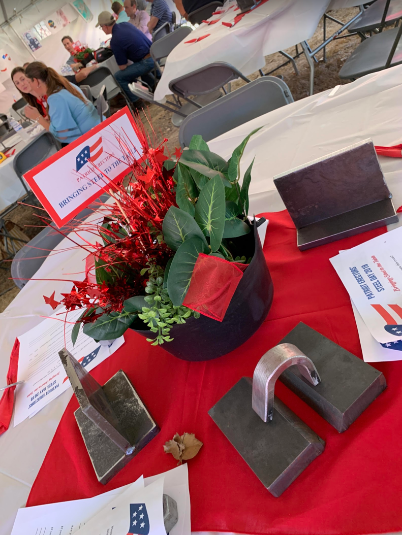 SteelDay 2019 - Bringing Steel to the Table Patriot Erectors Dripping Springs