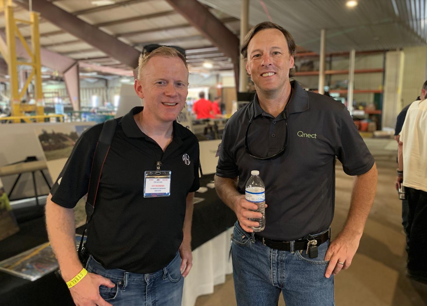 SteelDay 2019 - Geoff Wieseberger AISC Christian Erickson Head of Marketing Qnect