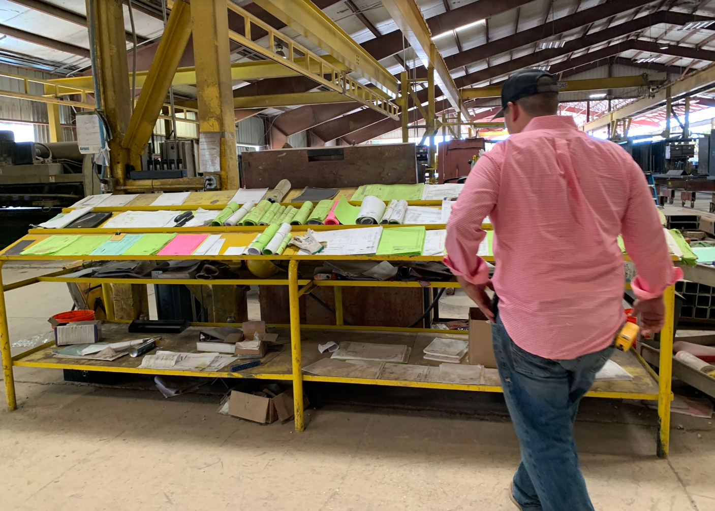 SteelDay 2019 planning table structural steel